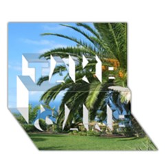 Sunny Tenerife TAKE CARE 3D Greeting Card (7x5)