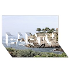 Tenerife,painted Version PARTY 3D Greeting Card (8x4)