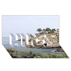 Tenerife,painted Version HUGS 3D Greeting Card (8x4)