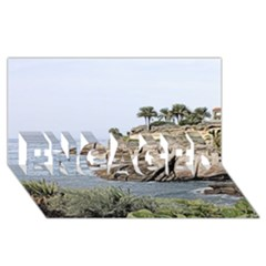 Tenerife,painted Version Engaged 3d Greeting Card (8x4)