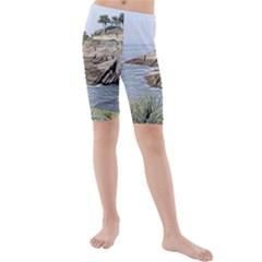 Tenerife,painted Version Kid s swimwear