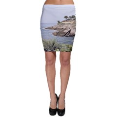 Tenerife,painted Version Bodycon Skirts