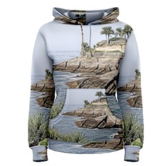 Tenerife,painted Version Women s Pullover Hoodies
