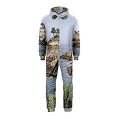 Tenerife,painted Version Hooded Jumpsuit (Kids)