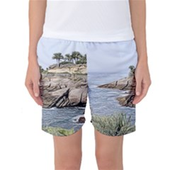 Tenerife,painted Version Women s Basketball Shorts