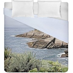 Tenerife,painted Version Duvet Cover (king Size)