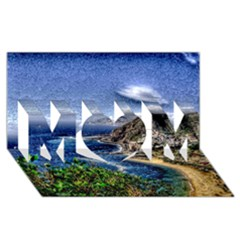 Tenerife 12 Effect Mom 3d Greeting Card (8x4)