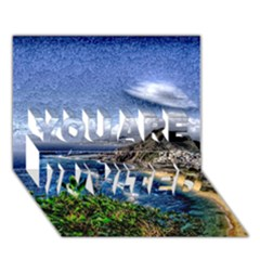 Tenerife 12 Effect You Are Invited 3d Greeting Card (7x5)