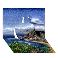 Tenerife 12 Effect Apple 3d Greeting Card (7x5)