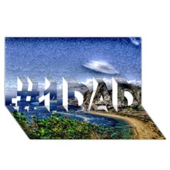 Tenerife 12 Effect #1 Dad 3d Greeting Card (8x4)