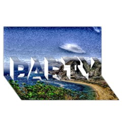 Tenerife 12 Effect PARTY 3D Greeting Card (8x4)