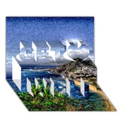 Tenerife 12 Effect Get Well 3D Greeting Card (7x5)