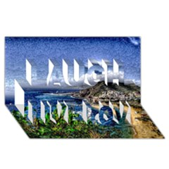 Tenerife 12 Effect Laugh Live Love 3d Greeting Card (8x4)