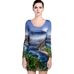 Tenerife 12 Effect Long Sleeve Bodycon Dresses