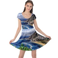 Tenerife 12 Effect Cap Sleeve Dresses