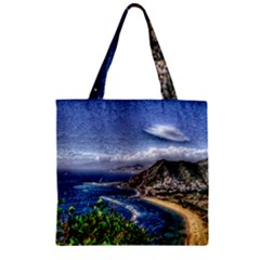 Tenerife 12 Effect Zipper Grocery Tote Bags