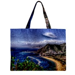 Tenerife 12 Effect Zipper Tiny Tote Bags