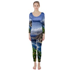 Tenerife 12 Effect Long Sleeve Catsuit