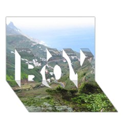 Tenerife 10 Boy 3d Greeting Card (7x5)