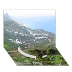 Tenerife 10 Circle Bottom 3D Greeting Card (7x5)