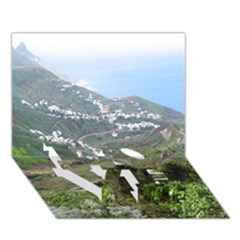 Tenerife 10 LOVE Bottom 3D Greeting Card (7x5)