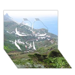 Tenerife 10 Clover 3D Greeting Card (7x5)