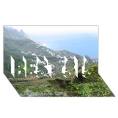 Tenerife 10 BEST SIS 3D Greeting Card (8x4)