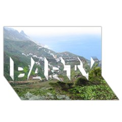 Tenerife 10 PARTY 3D Greeting Card (8x4)