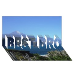 Panted Landscape Tenerife BEST BRO 3D Greeting Card (8x4)