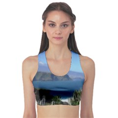 Panted Landscape Tenerife Sports Bra