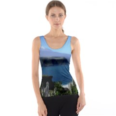 Panted Landscape Tenerife Tank Tops