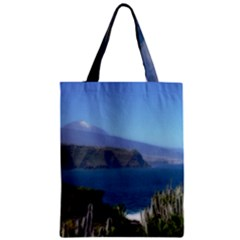 Panted Landscape Tenerife Classic Tote Bags