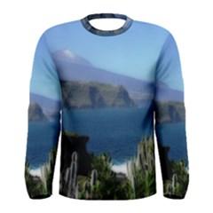 Panted Landscape Tenerife Men s Long Sleeve T-shirts
