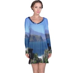 Panted Landscape Tenerife Long Sleeve Nightdresses