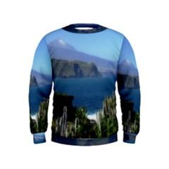 Panted Landscape Tenerife Boys  Sweatshirts