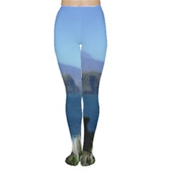 Panted Landscape Tenerife Women s Tights
