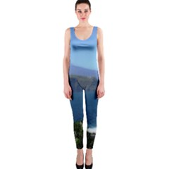 Panted Landscape Tenerife OnePiece Catsuits