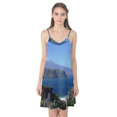 Panted Landscape Tenerife Camis Nightgown