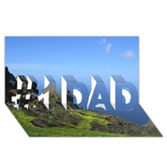 Tenerife 09 #1 DAD 3D Greeting Card (8x4)