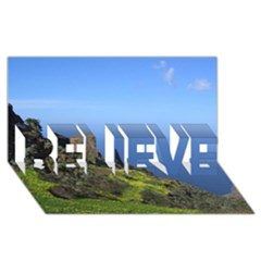 Tenerife 09 Believe 3d Greeting Card (8x4)