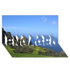 Tenerife 09 ENGAGED 3D Greeting Card (8x4)