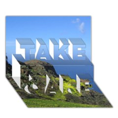 Tenerife 09 TAKE CARE 3D Greeting Card (7x5)