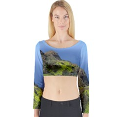 Tenerife 09 Long Sleeve Crop Top