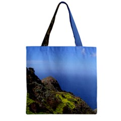 Tenerife 09 Zipper Grocery Tote Bags