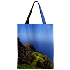 Tenerife 09 Zipper Classic Tote Bags