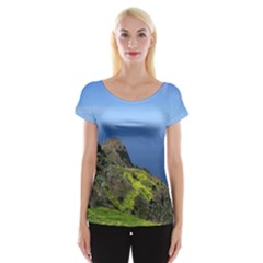 Tenerife 09 Women s Cap Sleeve Top