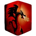 Funny, Cute Dragon With Fire iPad Mini 2 Flip Cases View3