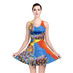 Aquarius  Reversible Skater Dresses