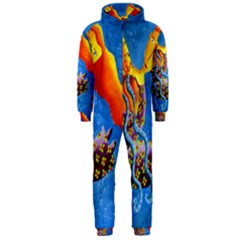 Aquarius  Hooded Jumpsuit (Men)