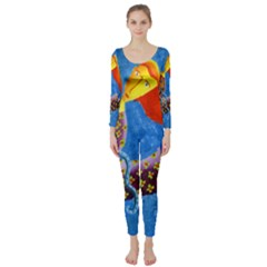 Aquarius  Long Sleeve Catsuit